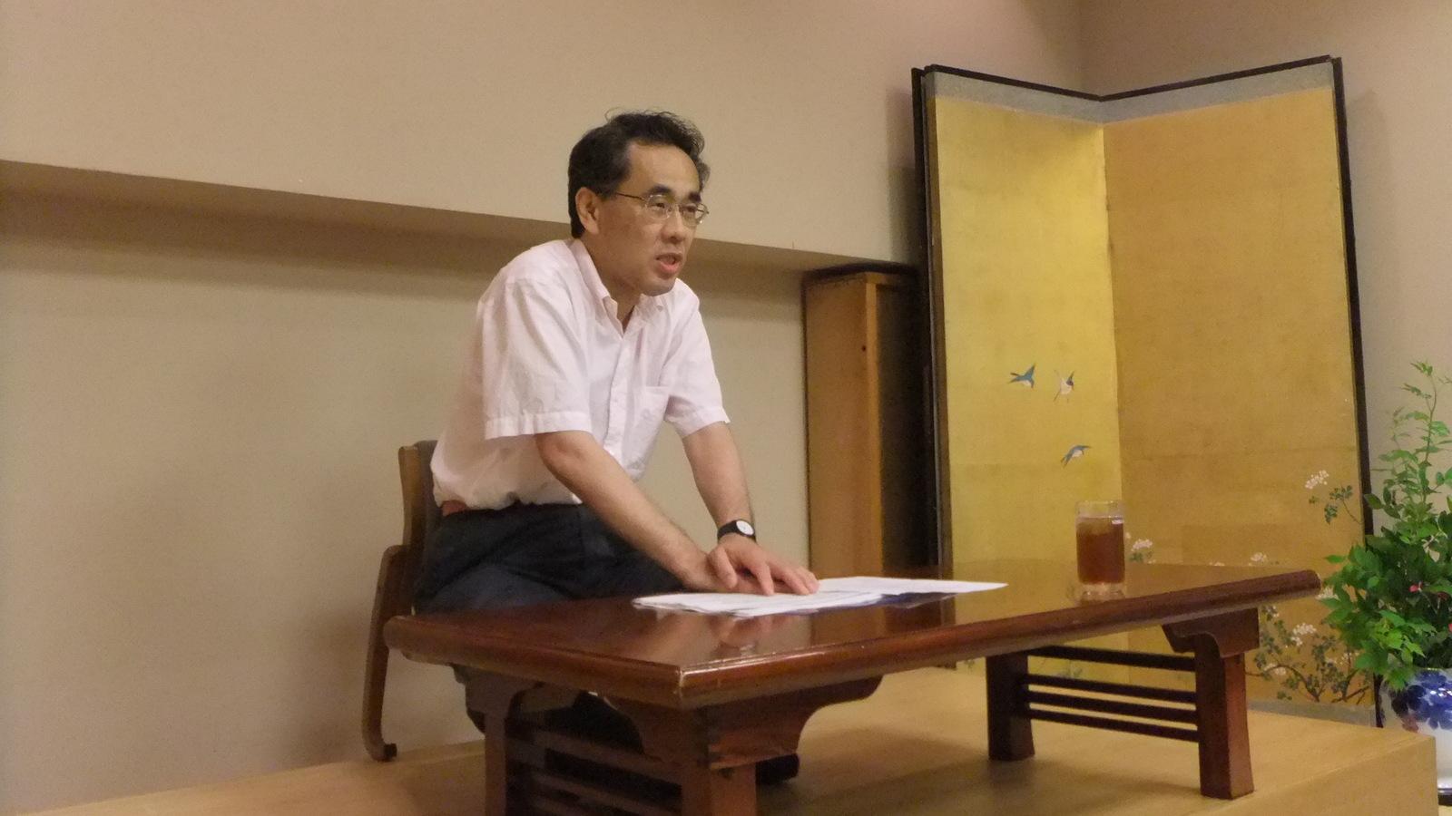 長谷川榮一元中小企業庁長官の講演を聞いて: 旧 人事のブレーン社会 ...